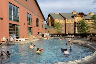 Hope Lake Lodge Pools