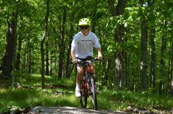 Mountain Biking at West Mountain