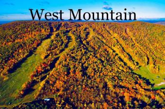 West Mountain In Fall