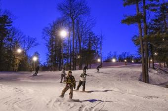 Bristol Night Skiing