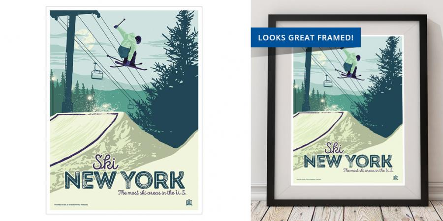2016 Freestyle Skier Poster